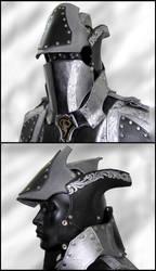 Black and Silver Armor- Helmet
