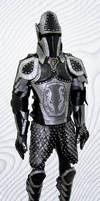 Black And Silver Armor - Final