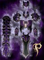 Female Dragon Themed Armor by Azmal