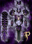 Female Dragon Themed Armor