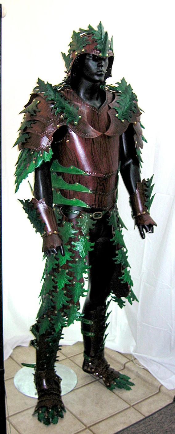 Woodland Armor pic2 by Azmal