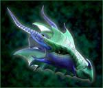 Imperial Sea Dragon Helmet