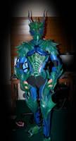 Imperal Sea Dragon Armor by Azmal