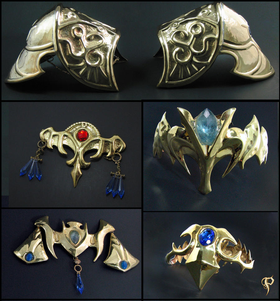 Princess Zelda Jewelry: Zelda Twilight Princess Armor & Jewelry