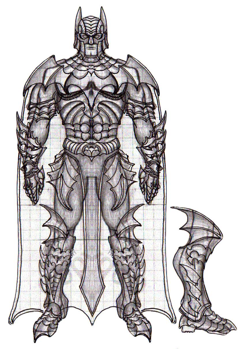 Medieval Armor Drawings