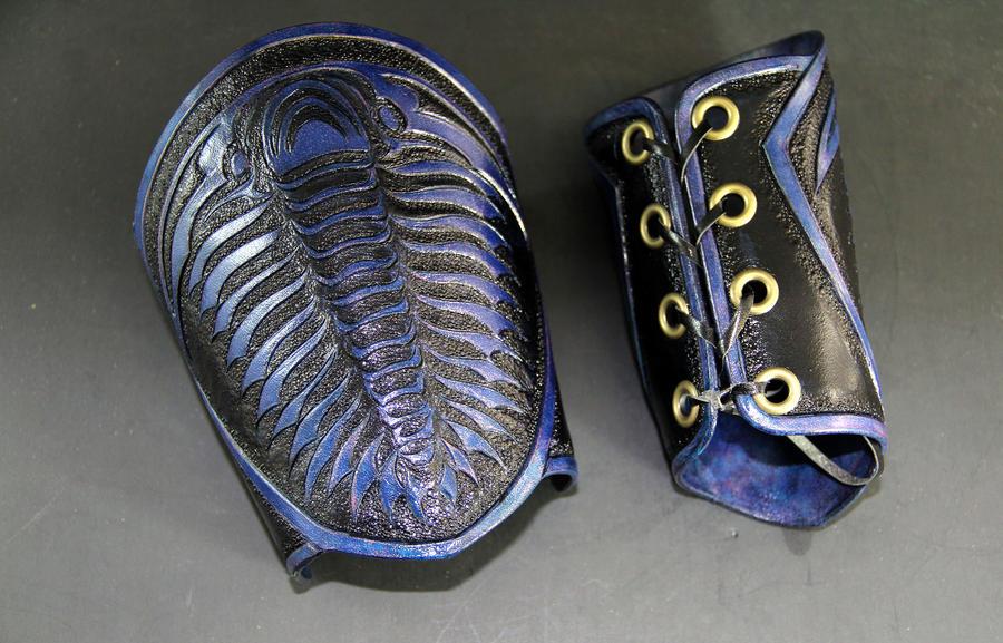 Trilobite Bracers by Azmal