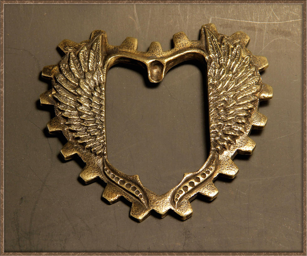 Steampunk Buckle Preview 6 by Azmal