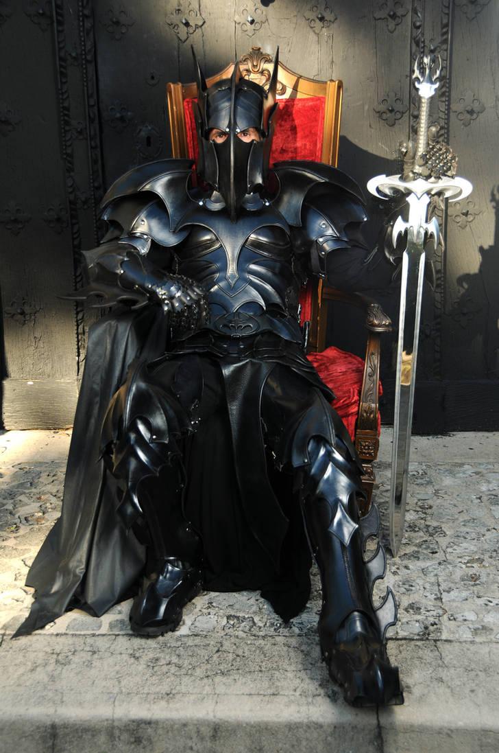 Medieval Bat Man Armor by Azmal