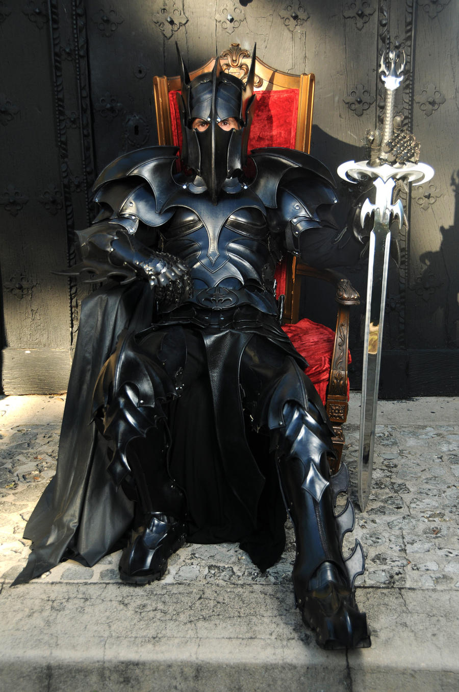 Medieval Bat Man Armor by Azmal
