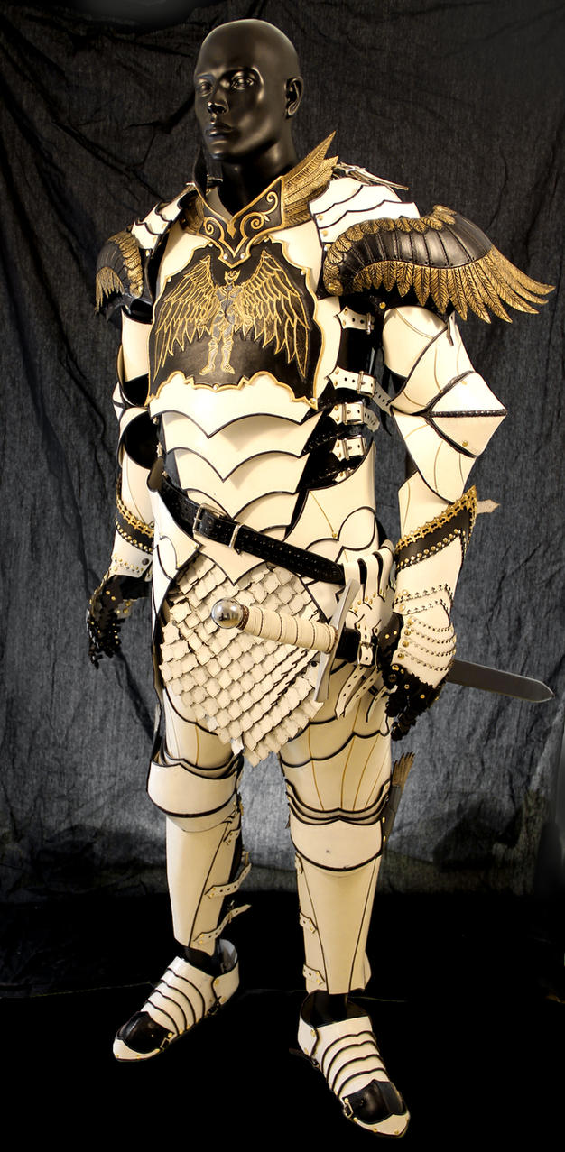 Paladin armor by azmal on deviantart for Armor decoration