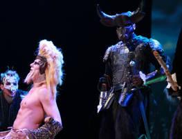 Minotaur and Aslan Narnia Play by Azmal