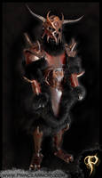 Barbarian Armor by Azmal