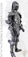 Elven Knight Leather Fantasy Armor by Azmal