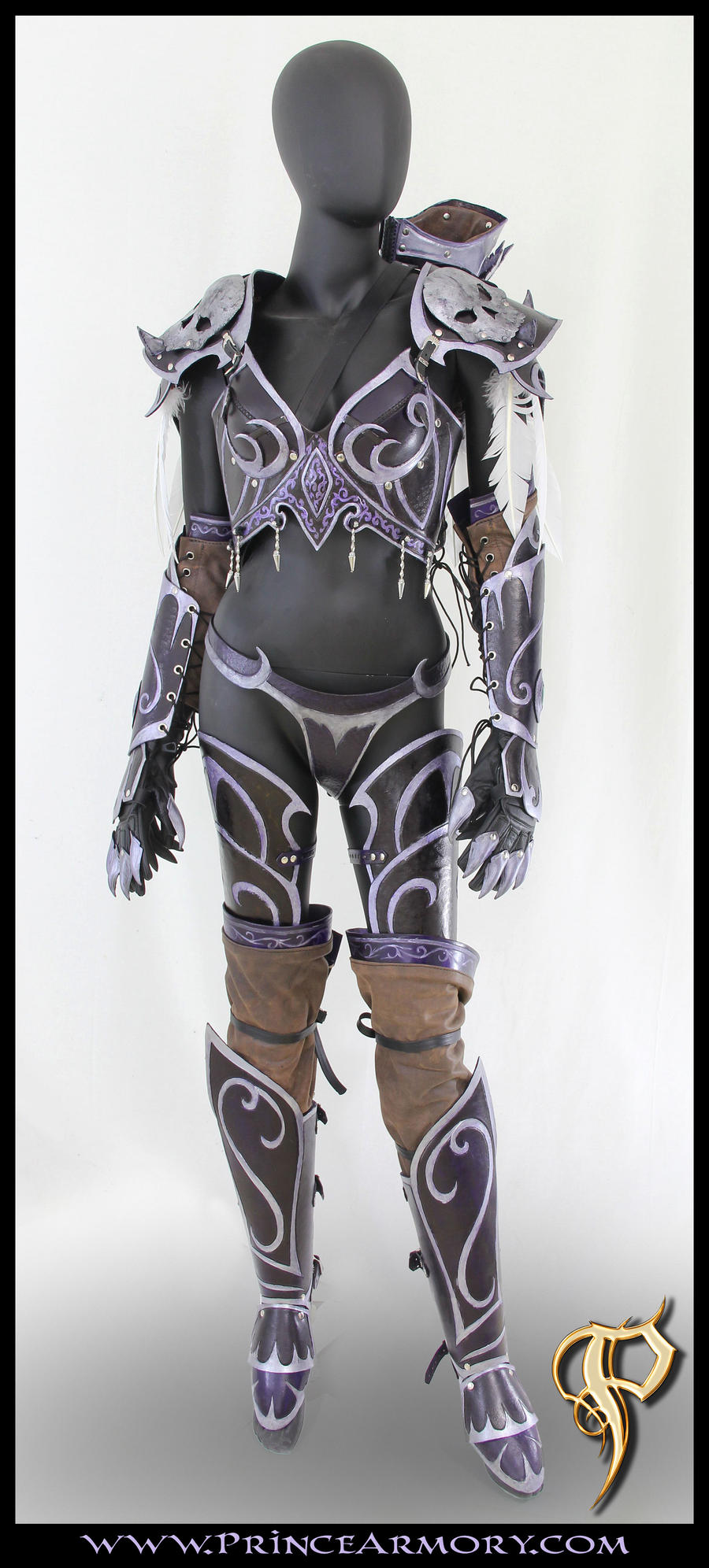Sylvanas Windrunner Leather Armor by Azmal