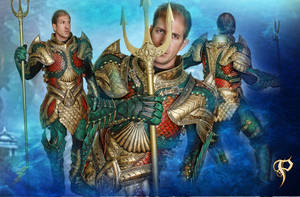 Medieval Aquaman Armor