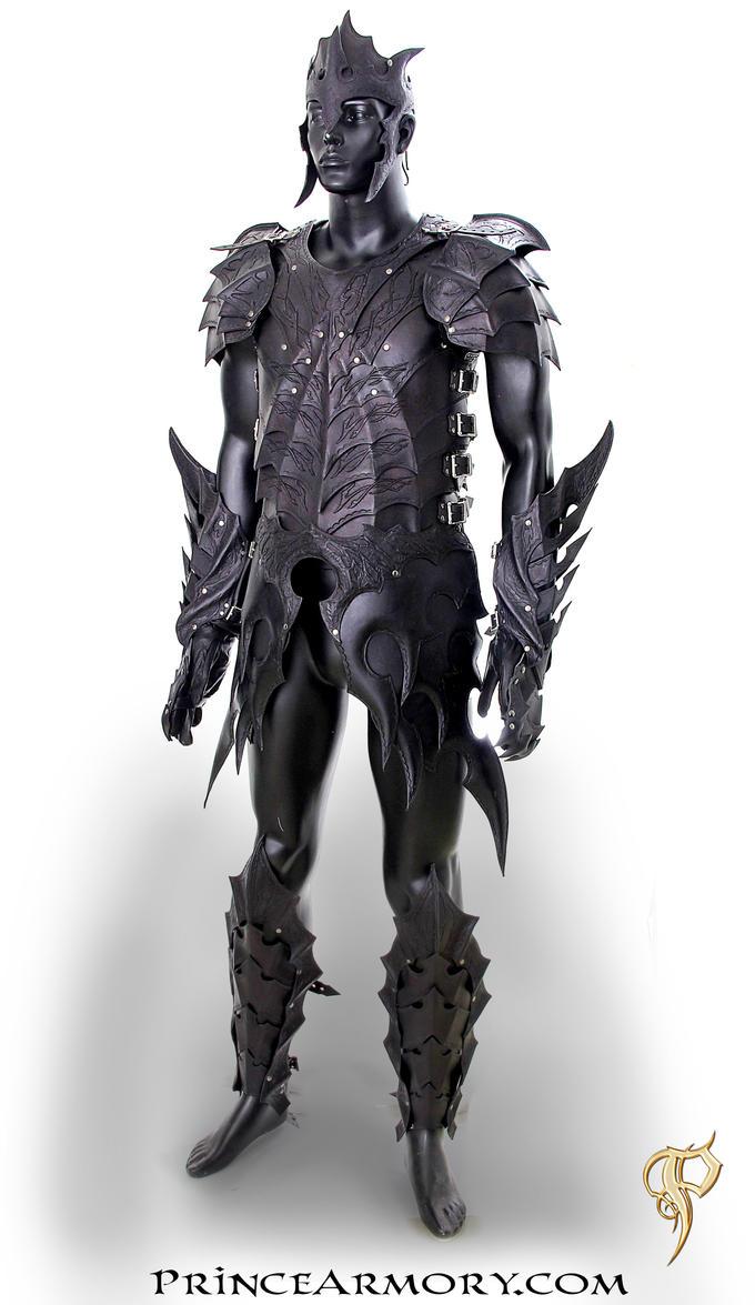 Leather Drow Fantasy Armor by Azmal