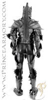 Elven Knight Leather Armor - Back View