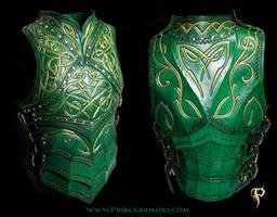 Green Elven Knight Cuirass