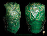 Green Elven Knight Cuirass