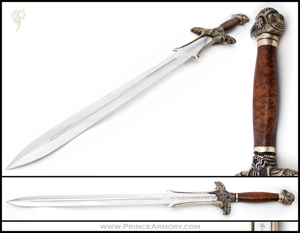 Atlantean Conan Sword Variant by Azmal
