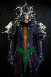 Medieval Joker Leather Armor