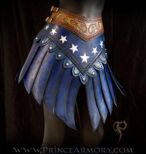 Leather Wonder Woman Skirt