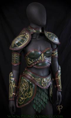 Untitled female armor
