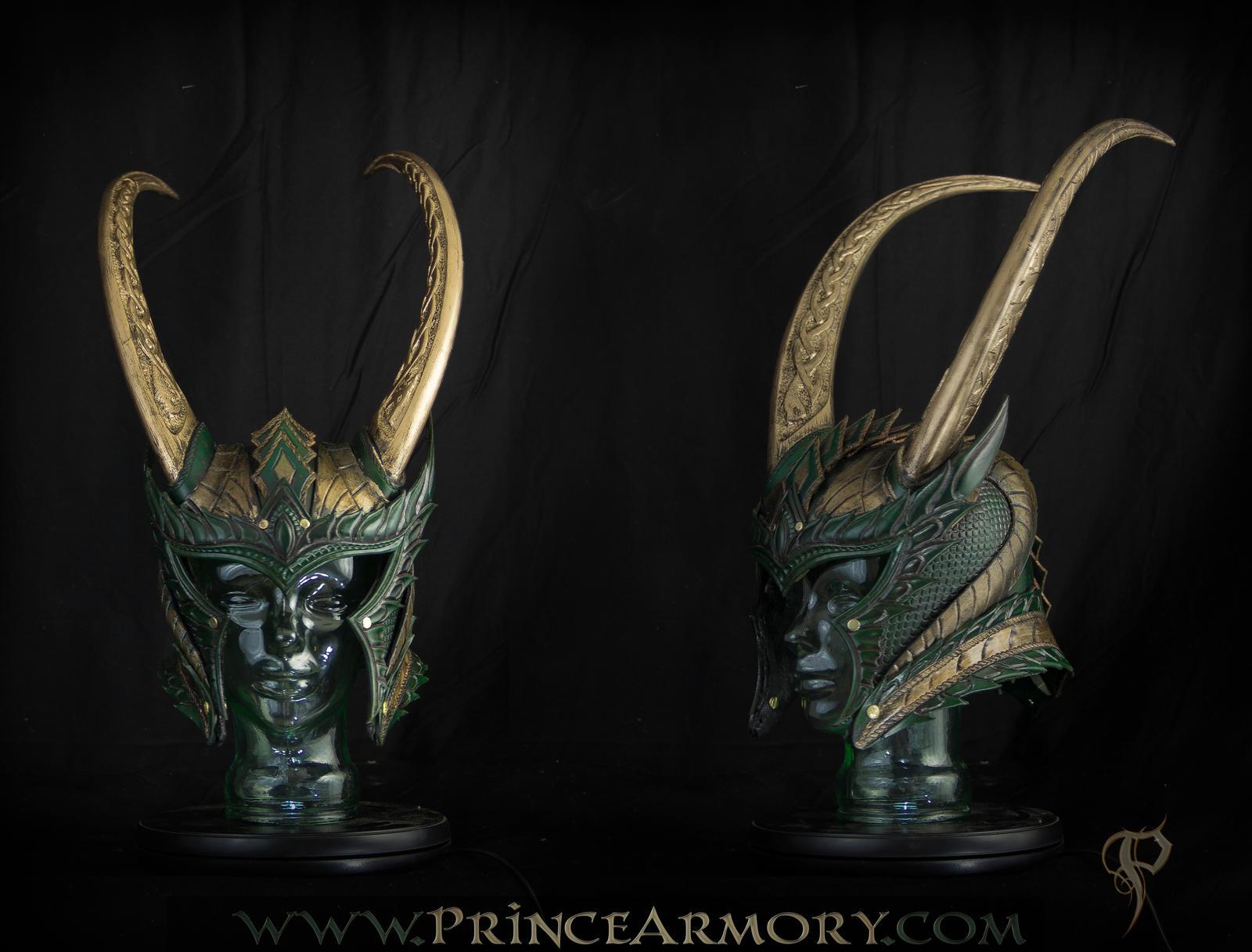 Medieval Loki Helmet - Revised by Azmal