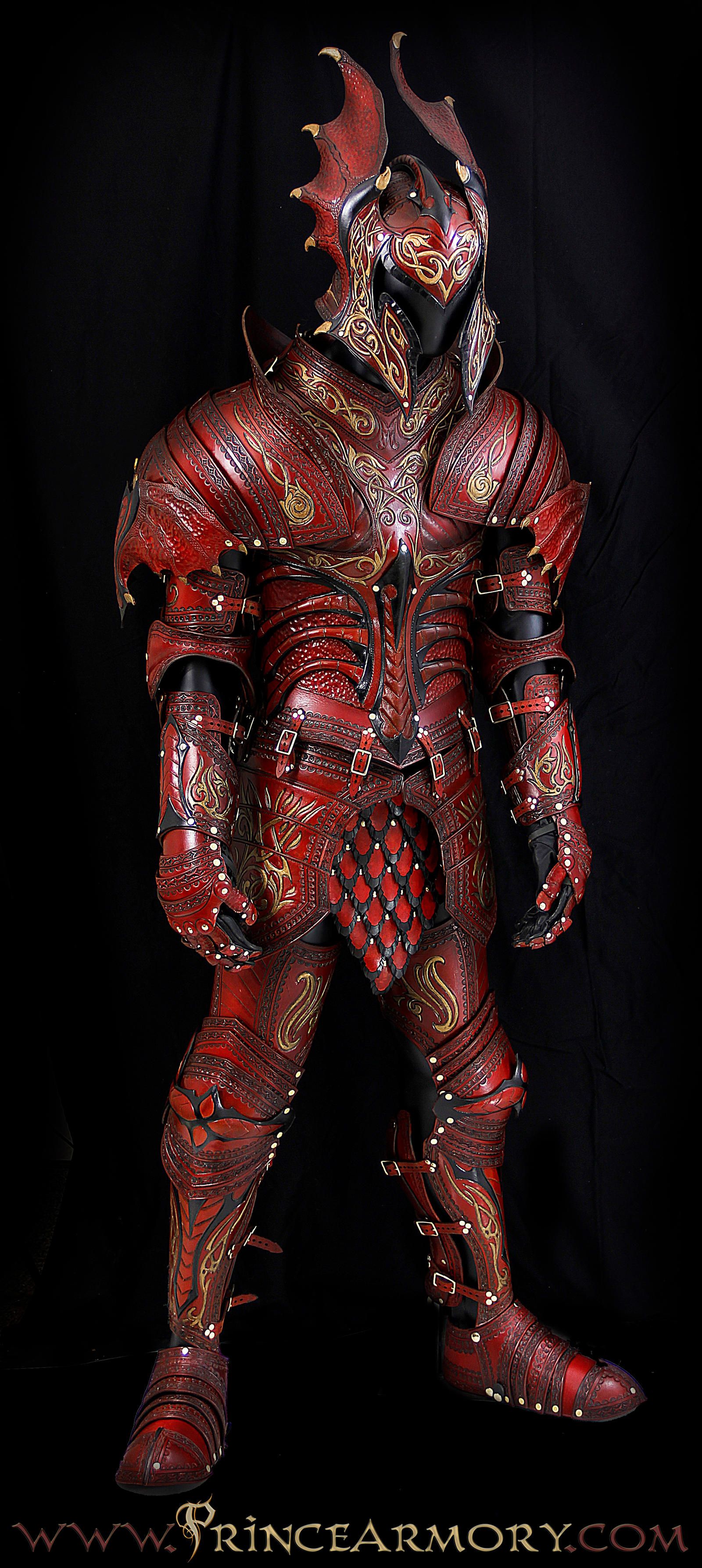 Flame Dragon Armor by Azmal