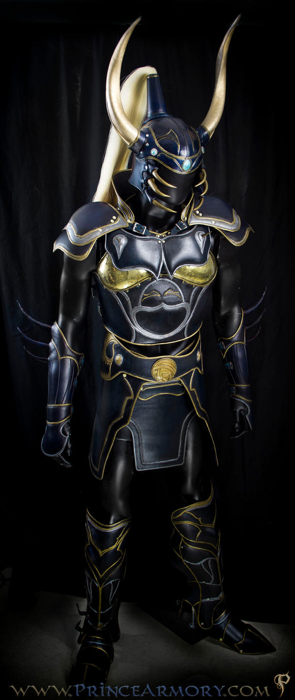Warrior of Light Leather Armor by Azmal