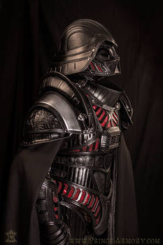 Medieval Lord Vader Custom Armor