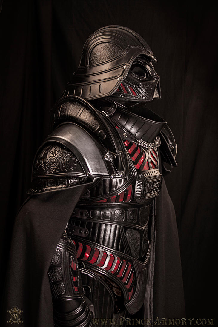 Medieval Lord Vader Custom Armor by Azmal