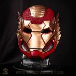 Asgardian Iron Man Helmet Front