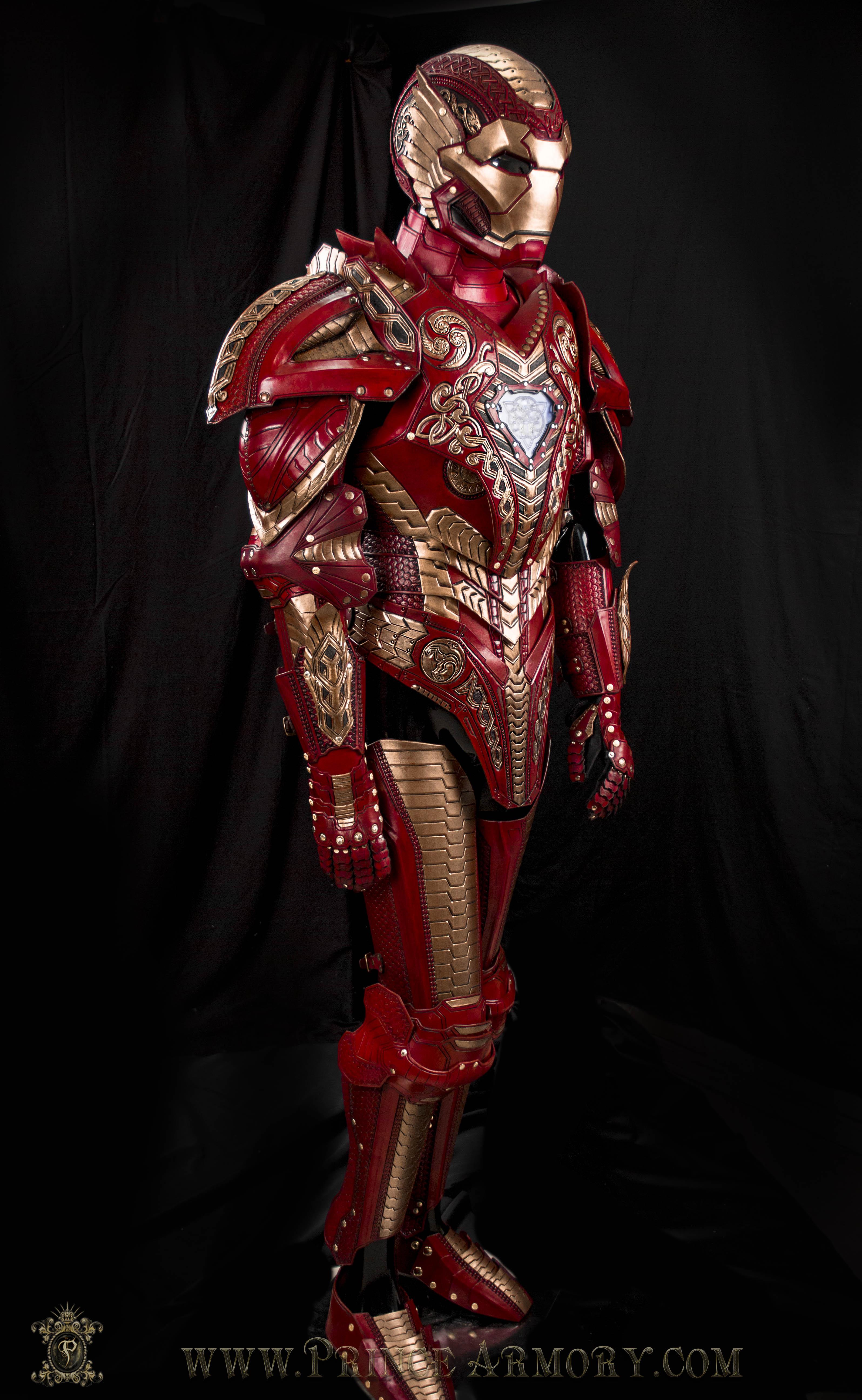 Asgardian Iron Man Complete by Azmal on DeviantArt