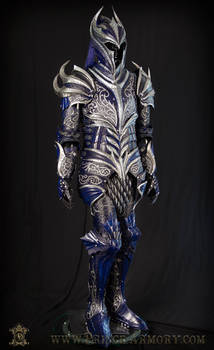 Sapphire Knight Leather Armor 003