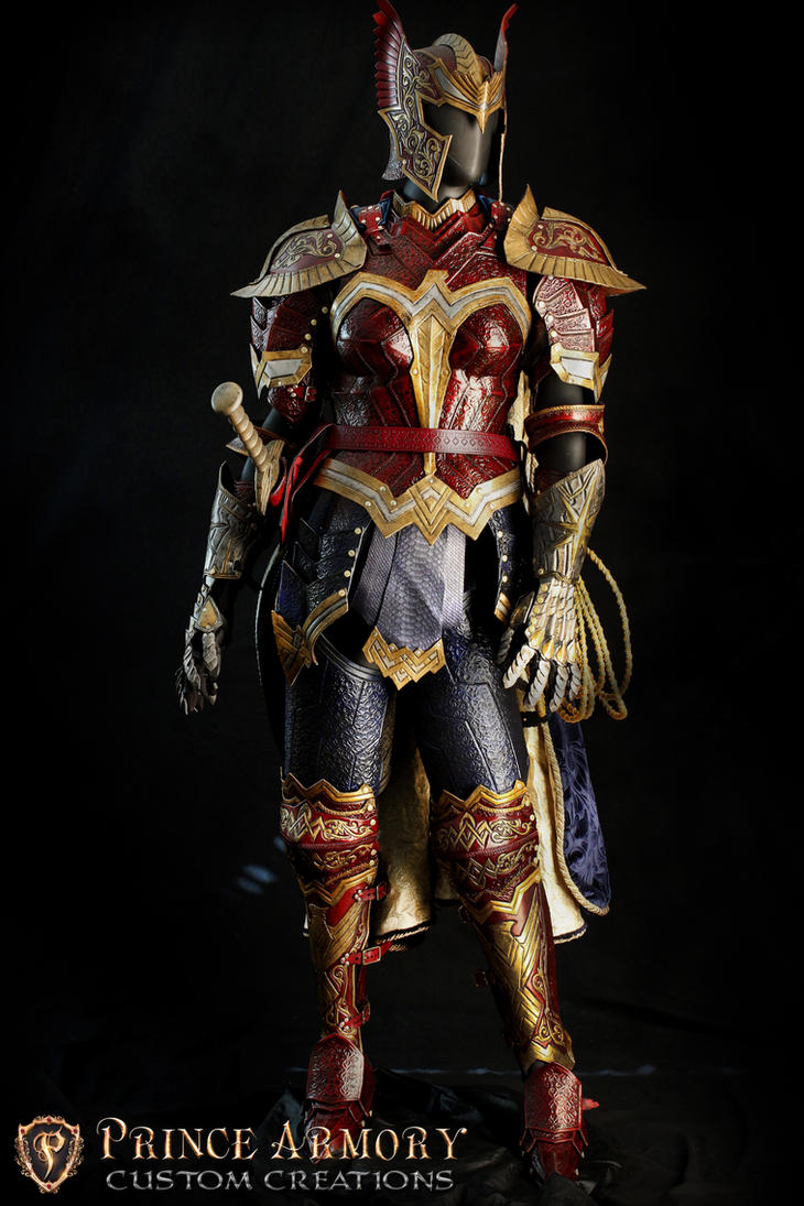 Wonder Woman Battle Armor by Azmal