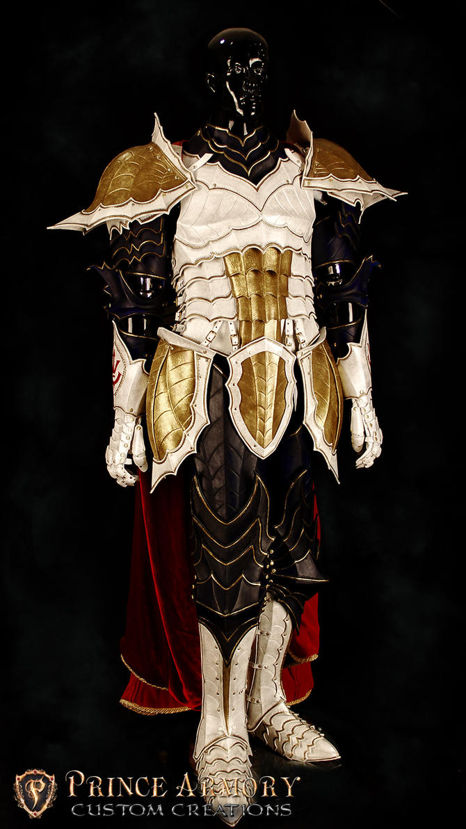 Medieval Vegeta Court Armor by Azmal