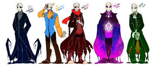 Gaster's by Bunnymuse