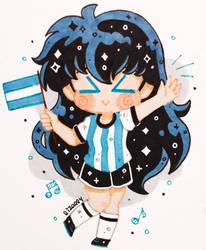 Vamos Argentina! by Lizally