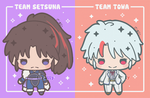 Team Setsuna or Team Towa? by Lizally