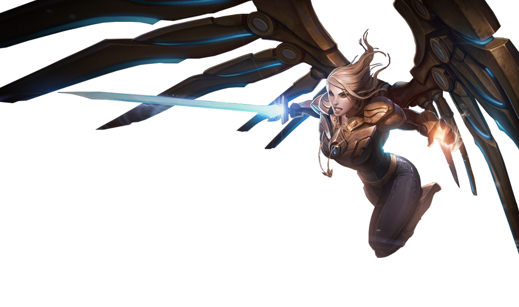 Aether Wing Kayle Render by Kyle-Garland