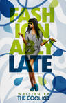 Book Cover 024 - Fashionably Late