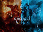 Blend 04 - Michael and Lucifer