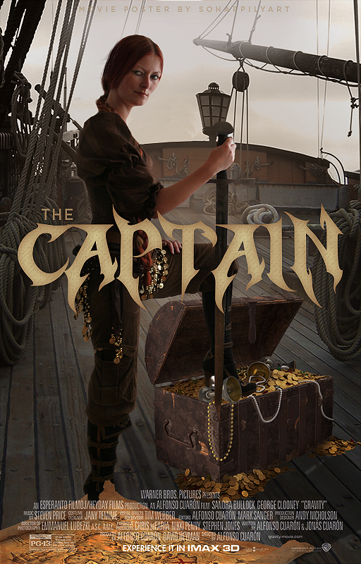 Movie Poster 002 - The Captain by sohappilyart
