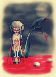 bloody mermaid by beti123