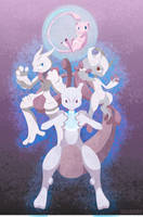 The Many Incarnations of Mew by m-dugarchomp
