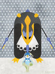 Empoleon and Piplup
