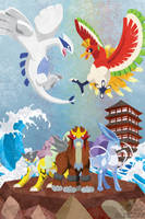 Johto Legends by m-dugarchomp