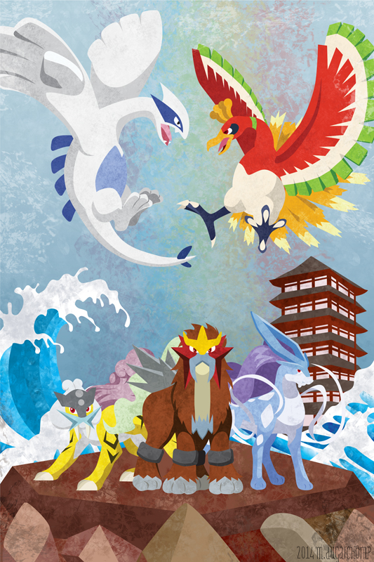 Johto Legends By M Dugarchomp