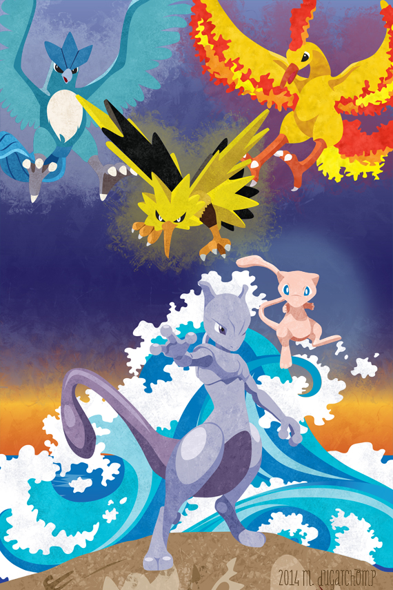 Legends of Kanto by m-dugarchomp